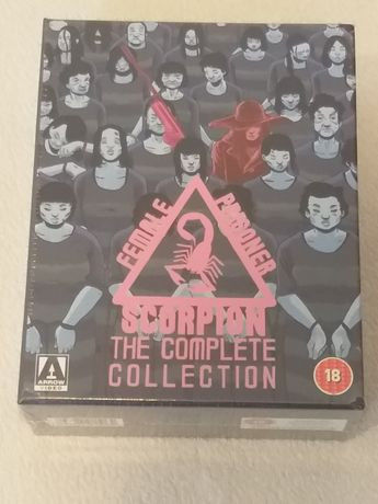 Female Prisoner Scorpion: The Complete Collection Blu-ray Nowy Arrow