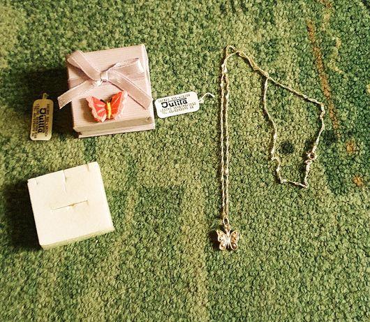 Srebro 925 - wisiorek z Motylkiem, Julita, prezent dla dziewczyny