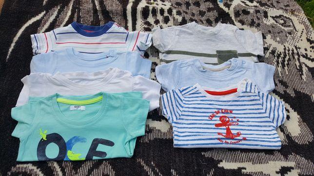 Koszulki T-shirt jak nowe 62/68 F&F Cool Club