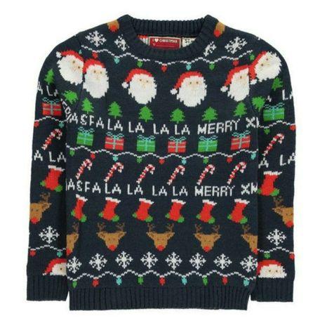 Новый новогодний теплый свитер 500р