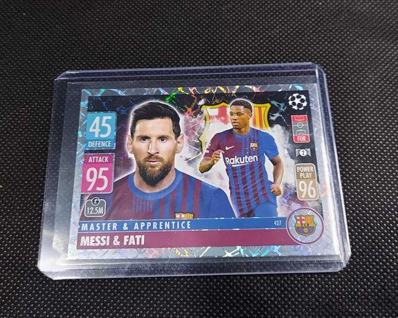 Messi Master&Apprentice Topps Match Attax 21/22 #427