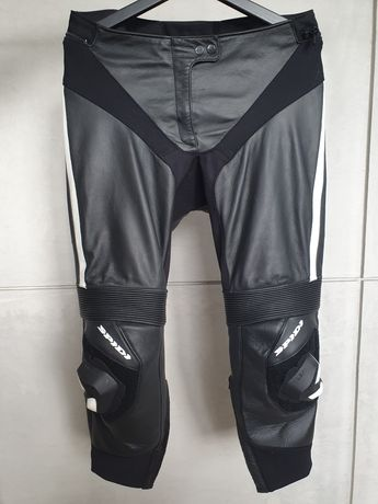 * SPIDI * damskie spodnie skórzane RR PRO LADY - 44 (48)