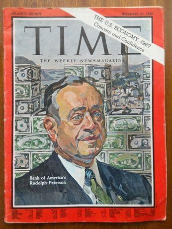 WOJNA W WIETNAMIE - oryginalny magazyn TIME z 1966 roku - Stan B-Dobry