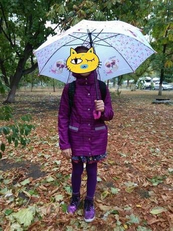 Пальто-плащ-дождевик на весну (осень)