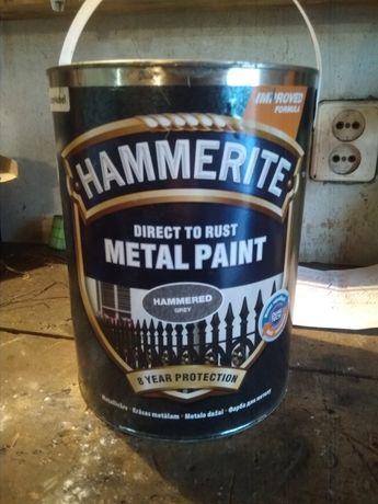 Продам краску Hammerite hammered grey
