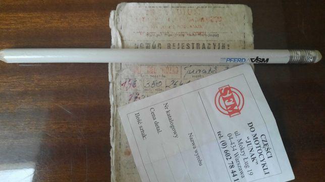 Kolekcjonerskie dokumenty M10 z 1963