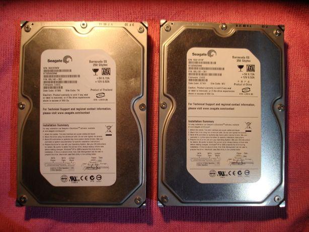 Жесткие диски для компьютера 250GB (по 700 руб.)