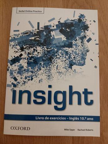 Livro exercícios de inglês