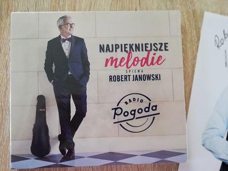 Płyta najpiękniejsze melodie śpiewa Robert Janowski