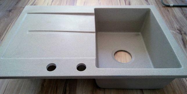 Zlewozmywak jednokomorowy granitowy, granit, nowy. Lavello Designo 1.0