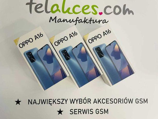 SMARTFON Oppo A16 3/32Gb  Black Sklep Manufaktura 519zł Telakces