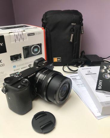 Aparat SONY Alpha A6000 z obiektywem 16-50mm + pokrowiec gratis!