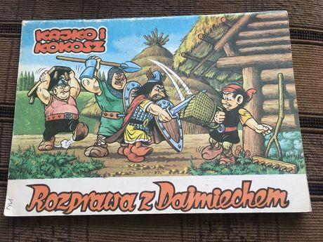 Kajko i kokosz Rozprawa z Dajmiechem, komiks kolekcjonerski 1988