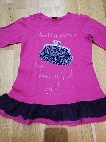 Sukienki i spódnice dla dziewczynek rozm 110, 6-7lat