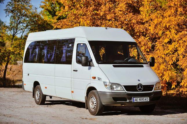 Пассажирские перевозки Mercedes Sprinter