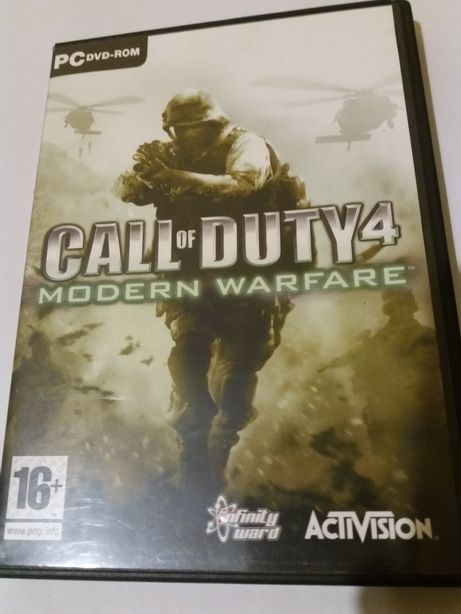 Gra PC Call of Duty 4 Modern Warfare