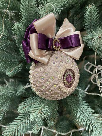 Елочные игрушки, новогодние игрушки, шары на ёлку,шар новогодний