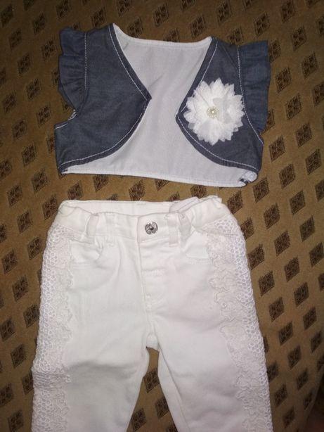 Гарний одяг під футболку для дівчинки