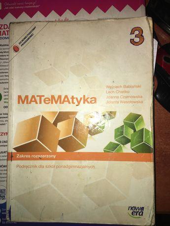 Ksiazka matematyka 3