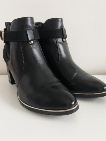 Buty na słupy, czarne, Graceland, rozmiar 37