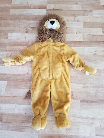 Strój karnawałowy dla dziecka-lew
