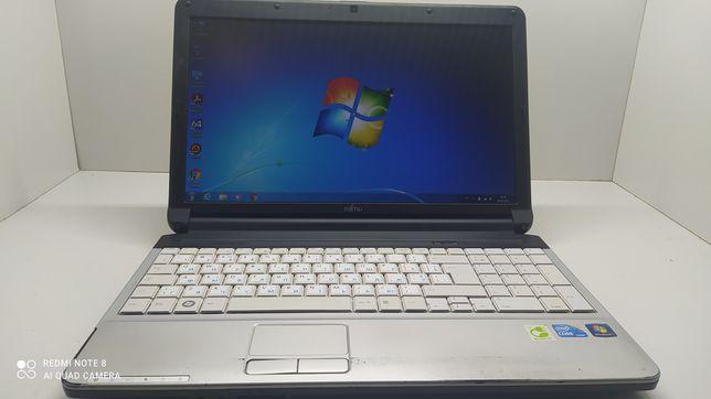 """Fujitsu LifeBook A530\15.6""""\Intel I3\320 HDD\4Gb RAM\новый акб"""