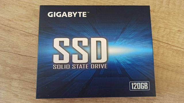 Накопитель Gigabyte SSD 120GB Гарантия 3 года Розетка