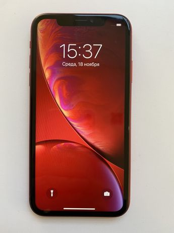 Iphone XR red 64 gb идеал