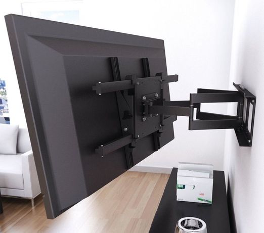 Установка монтаж повесить установить телевизор тв на стену