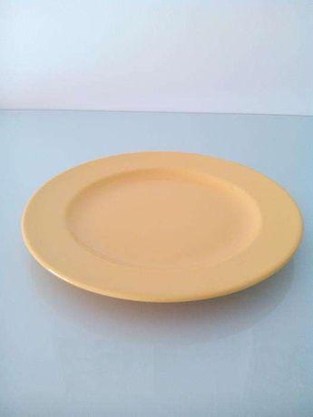 Prato grande amarelo - Vista Alegre