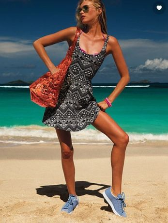Оригинальное платье сарафан под victoria's secret спортивного стиля