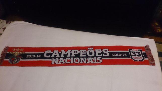 benfica (cachecol) campeões nacionais 2013/14