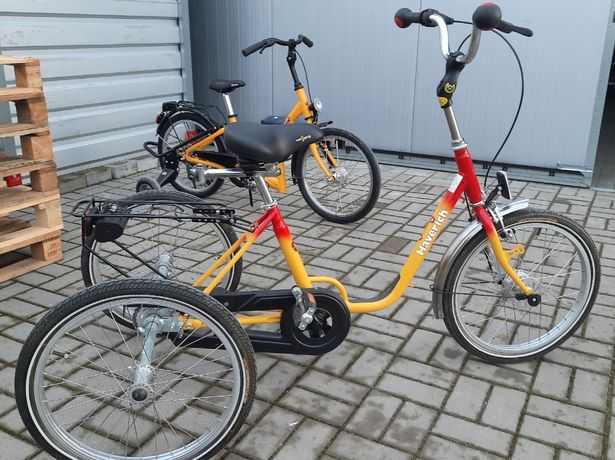 Rower trójkołowy-trzy kołowy dla dzieci rehabilitacyjny wybór rowerek.