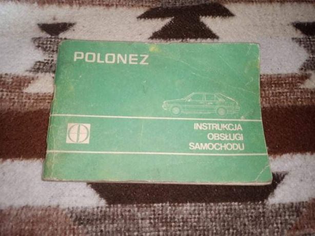 Instrukcja obsługi Poloneza