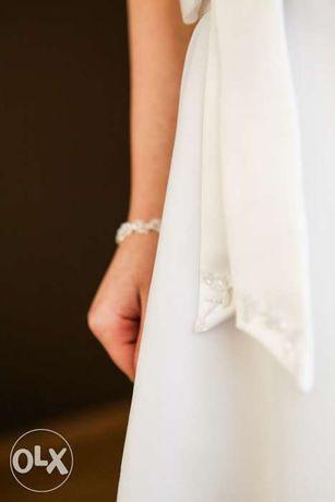 Suknia ślubna koronka, TANIO ;-)