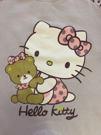 Pajac, śpioch Hello Kitty, roz. 74 - 80, stan bdb!