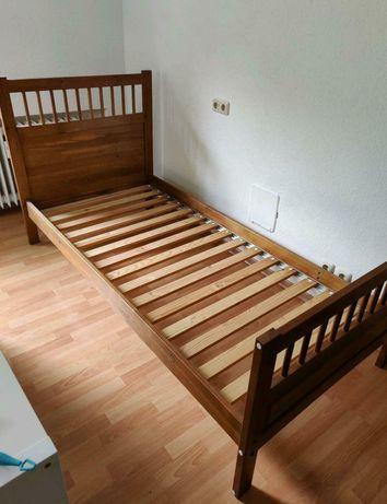Łóżko sosnowe Ikea Hemnes 90x200 cm