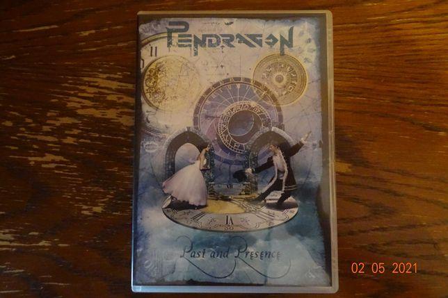 pendragon - past and presence, dvd, w idealnym stanie