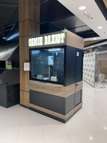 Обмен валют в торговом центре
