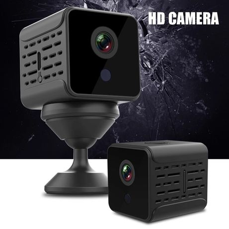 [NOVO] Mini Câmera Espiã Íman Bateria App em Tempo Real – Áudio video