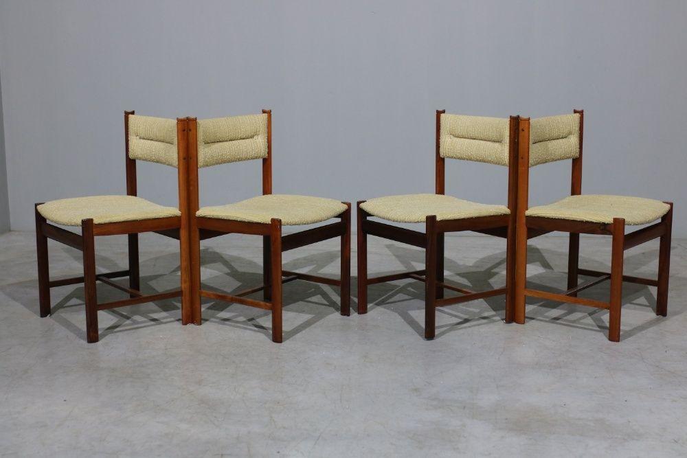Cadeiras para sala de jantar da déc.60 em pau santo | 10% de desconto Balazar - imagem 1