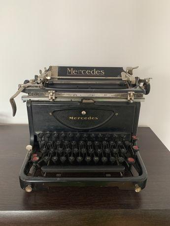 Maszyna do pisania mercedes z lat 30