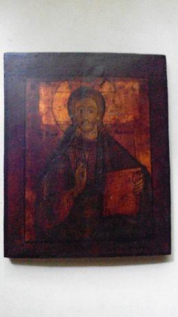 Икона начала 19века переходная Господь Вседержитель