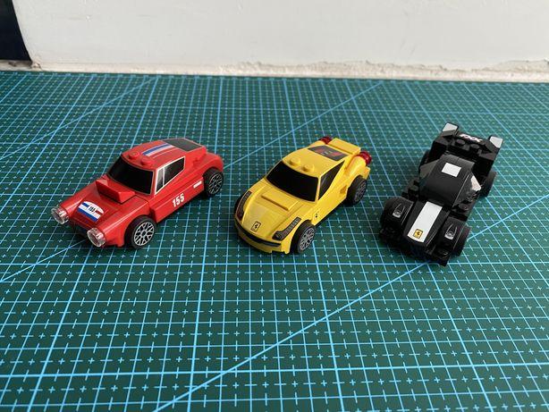 Lego Shell Ferrari. 3 modele