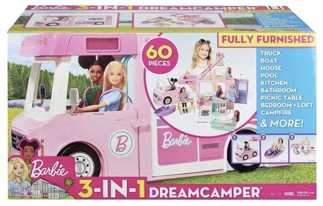 Barbie DreamCamper 3w1 NOWY