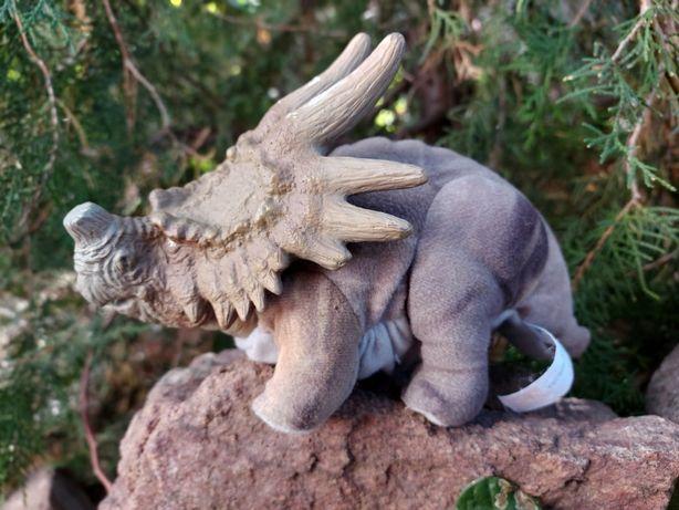 Динозавр Маттел Трицератопс Мягкая игрушка