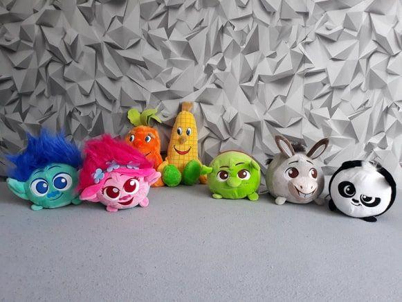 Maskotki , trolle , shrek , kung fu panda , lidlaki