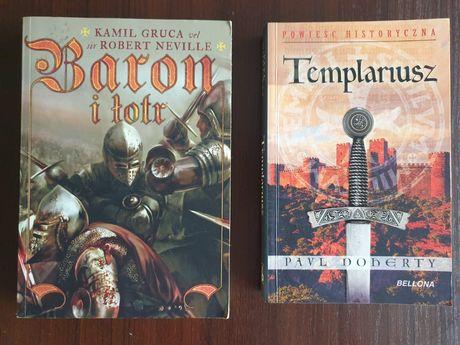 Książki Baron i łotr, Templariusz