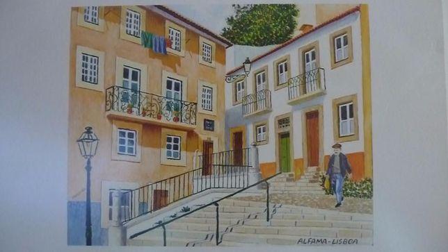 Quadro de Alfama ( Lisboa )