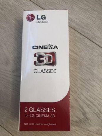 Okulary 3D Cinema LG 2szt